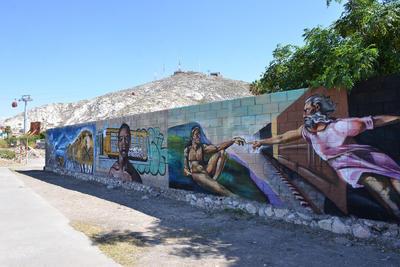 Nueva vista con grafiti para el Teleférico
