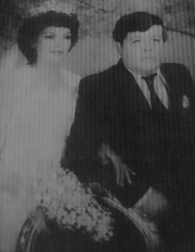19082018 14 de agosto de 1982: Margarita Guevara Velázquez y José Manuel Herrera Barraza contrajeron matrimonio en Ciudad Lerdo, Dgo.
