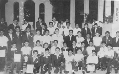 19082018 Escuela Federal Felipe Carrillo Puerto; graduación de 6° grado en junio de 1958.