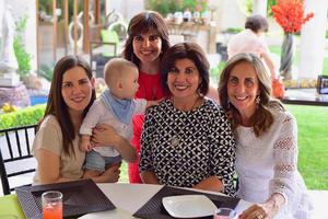 21082018 Gina, Carmen, Martha y Paulina.