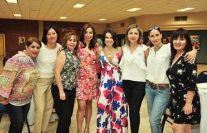 22082018 SE REENCUENTRAN.  Claudia, Mirna, Julieta, Carmelita, Paty, Meter, Lety y Magdalena.