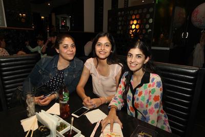 Vanessa Terán, Fernanda Sánchez y Fernanda Bonilla.