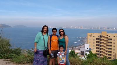 23082018 Claudia, Jesús Gonzalo, Maximiliano y Perla.