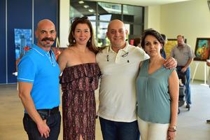 23082018 Juan, Raquel, Carlos y Laura.
