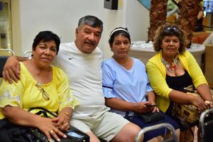 23082018 Mary, Ángel, Carmen y María Cruz.