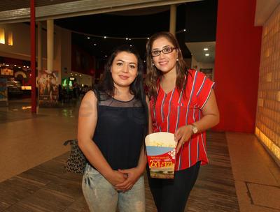 Mónica Cabrera y Paulina Gutiérrez.