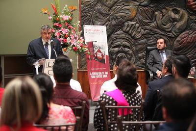 Ayer fue presentada formalmente en esta ciudad con un evento público al que se dieron cita destacadas personalidades del ámbito cultural, social y político.