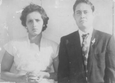26082018 Sra. Genoveva de la Torre Ramírez y Sr. Bernardo Medina Velázquez el 28 de agosto de 1954.