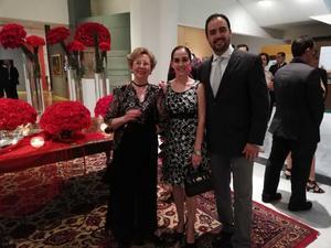 26082018 EN RECIENTE EVENTO.  Aurorita Máynez, Marucita de Máynez y Alfredo Maýnez.