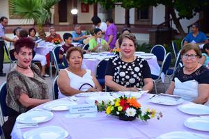 27082018 EN RECIENTE EVENTO.  Blanca, Graciela, Graciela y Raquel.