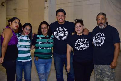 30082018 Alicia, Nicole, Magda, Roblero, Zulema y Ariel.