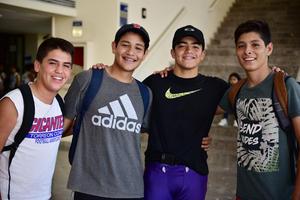 30082018 Rolando, Carlos, Diego y Ángel.