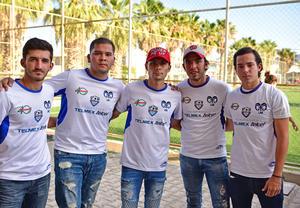 30082018 Eduardo, Ricardo, Gustavo, Diego y Pipe.