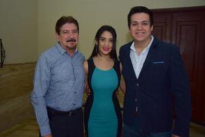 31082018 CONCIERTO DE GALA.  José, Alejandra y Mario.