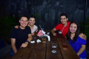 31082018 Jorge, Maleny, Chava y Karla.
