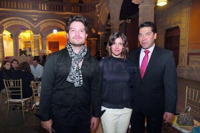 Danielo Hernández, Jessica Soto e Ignacio Monterrubio.