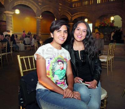 Mónica Barraza y Kitzia Rodríguez.