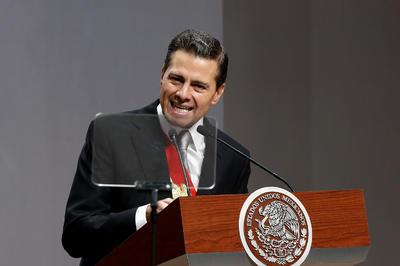 """""""Las reformas son, sin duda, el logro más importante de esta administración"""", aseguró el mandatario al inicio de su discurso."""