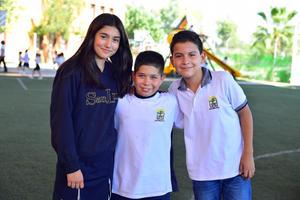 01092018 Sofía, Diego y Luciano.