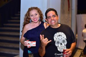 01092018 ASISTEN A CONCIERTO.  Ada y Alejandro.