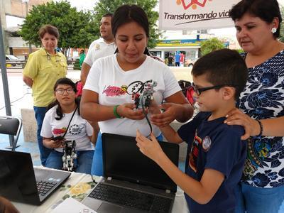 Realizan festival de Robótica en Torreón