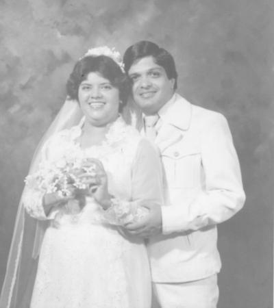 02092018 Sarita Mireles y C.P. Rafael Tapia el 26 de agosto 1979