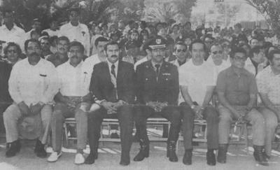 02092018 Fco. Javier Martínez, Manuel Pinto, Eulalio Gutiérrez, Jesús Reyes, Manlio Gómez y Alfredo Maldonado en la década de los 70.
