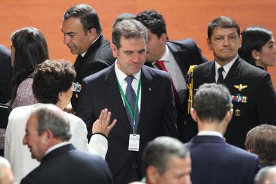 El consejero presidente del INE estuvo presente.