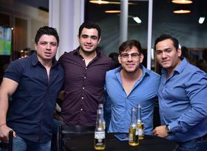 Francisco Almaraz  Said Rivas Andres Castorena y Fidel Aguilar