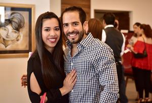 Daniela Estrada y Rafael Blando