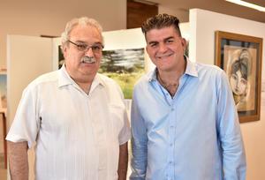 Hector Villarreal y Omar Mexsen