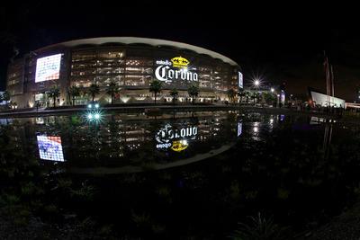 El Estadio Corona dentro del Territorio Santos Modelo.