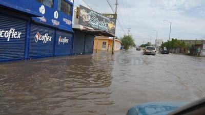En la zona norte de Torreón se registraron 50 milímetros de precipitación.