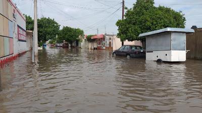 Así lucen algunas colonias de Torreón.