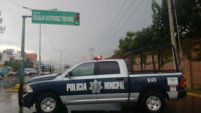 En la ciudad de Saltillo también se registró una intensa lluvia durante el pasado lunes.