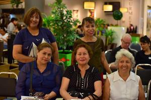 05092018 Hilda, Elizabeth, Magda, Ana María y Laura.