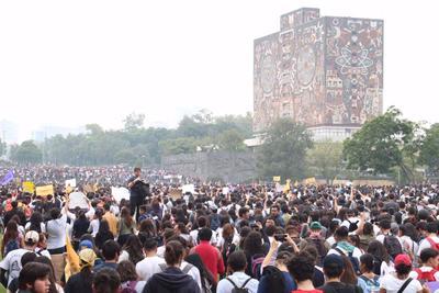 Asimismo, diversos planteles de la UNAM y diversas casas de estudios de la Ciudad de México se sumaron.