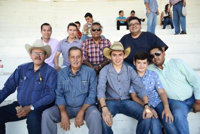 06092018 Emilio, Raymundo, Carlos, Diego, Emilio Jr., Othón, Manolo y Fermín.