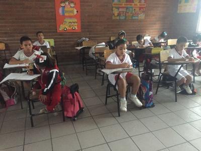 Por las lluvias, hubo sólo 50 por ciento de asistencia en escuelas de educación básica.