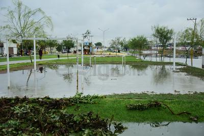 Se tuvo una captación de 48.5 mm de agua de lluvia en Torreón.