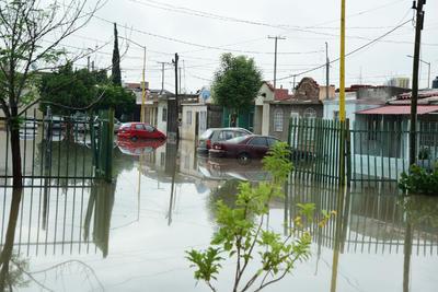 Incluso en algunos sectores el agua se introdujo a los domicilios.