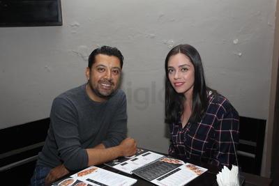 Miriam y Salvador.