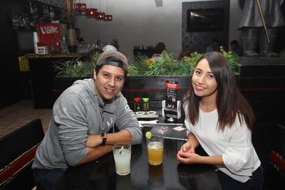 Estefania y Gerardo.