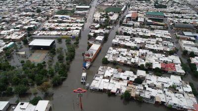Lluvias vuelven a causar inundaciones en La Laguna