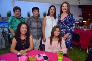 08092018 Alma Briones, María del Rosario, Lupita, Liliana, Cony y Margarita.