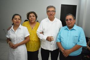 08092018 RECIENTE EVENTO.  Yolanda, Ome, Manuel y Francisco.