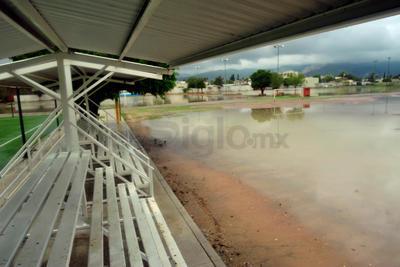 Así luce la Unidad Deportiva de Torreón.