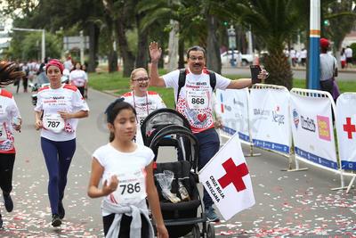 Corren para 'salvar vidas'