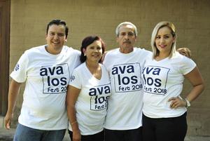10092018 EN FAMILIA.  Raymundo, Gloria, Raúl y Rocío.