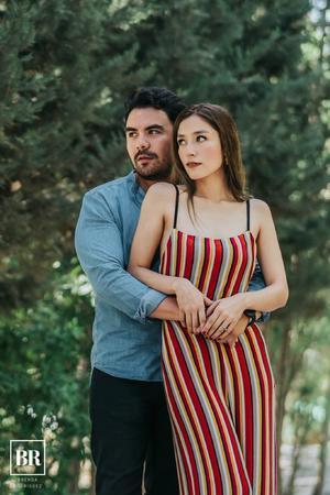 09092018 Gustavo Morales y Nicte Flores celebran hoy su 12° aniversario de novios. - Brenda Rodríguez